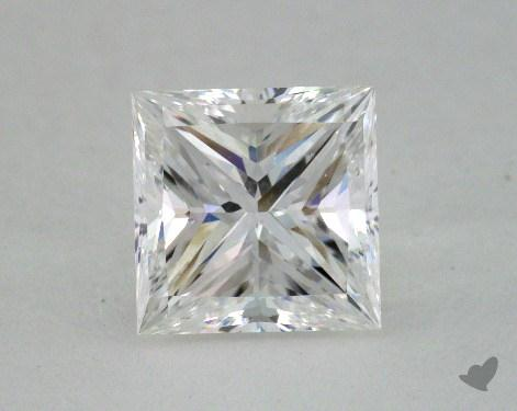 2.00 Carat G-SI1 Ideal Cut Princess Diamond