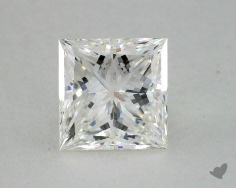 2.13 Carat H-SI1 Princess Cut  Diamond