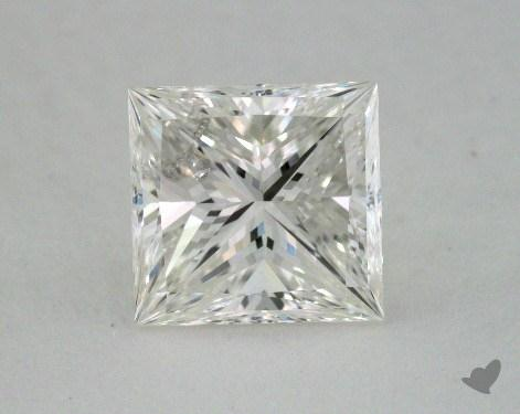 2.05 Carat H-SI2 Ideal Cut Princess Diamond