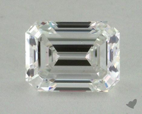 1.05 Carat E-SI1 Emerald Cut Diamond