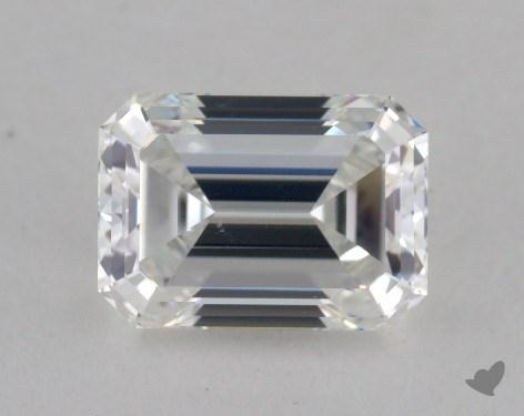 1.07 Carat F-VS2 Emerald Cut Diamond