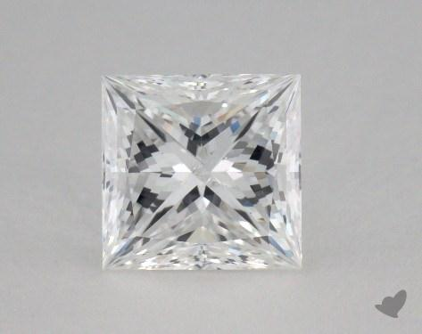 1.51 Carat F-SI2 Ideal Cut Princess Diamond