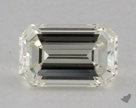 1.51 Carat K-VVS2 Emerald Cut Diamond