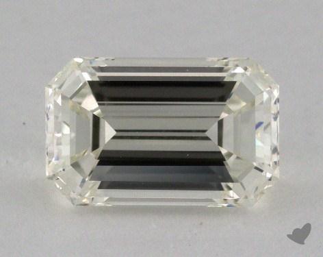 1.51 Carat K-VVS2 Emerald Cut Diamond
