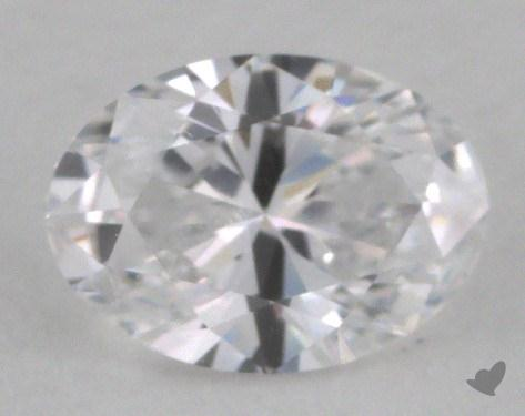 0.51 Carat D-IF Oval Cut Diamond