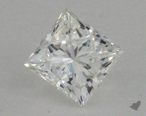 0.50 Carat H-SI1 Very Good Cut Princess Diamond