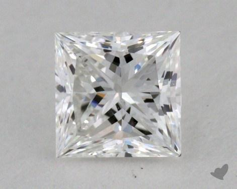 0.46 Carat E-VS1 Very Good Cut Princess Diamond