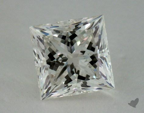 1.00 Carat J-VVS1 Ideal Cut Princess Diamond