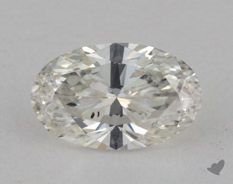 1.22 Carat H-SI2 Oval Cut Diamond