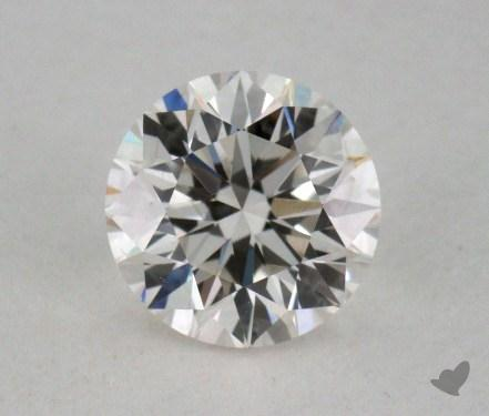 0.50 Carat I-VS1 Very Good Cut Round Diamond