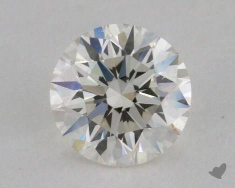 0.51 Carat I-VVS2 Excellent Cut Round Diamond