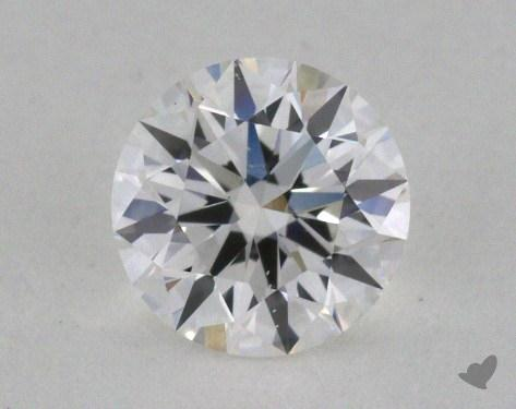 0.52 Carat E-SI1 Excellent Cut Round Diamond