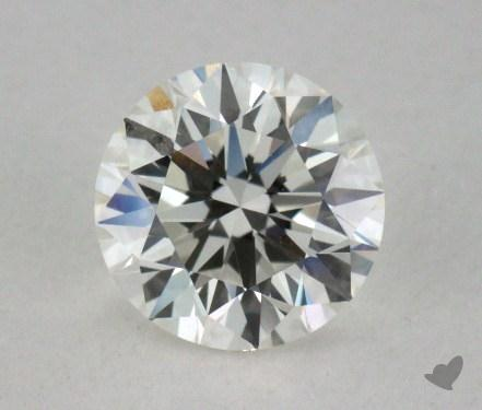0.60 Carat H-IF Excellent Cut Round Diamond