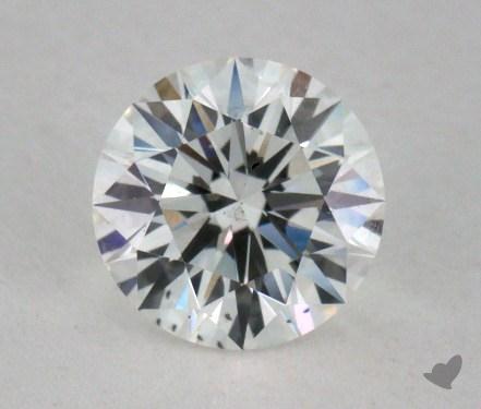 0.61 Carat E-SI1 Excellent Cut Round Diamond