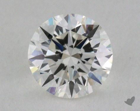 0.60 Carat H-VVS1 Excellent Cut Round Diamond