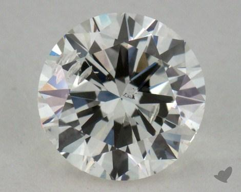 0.90 Carat H-SI2 Good Cut Round Diamond