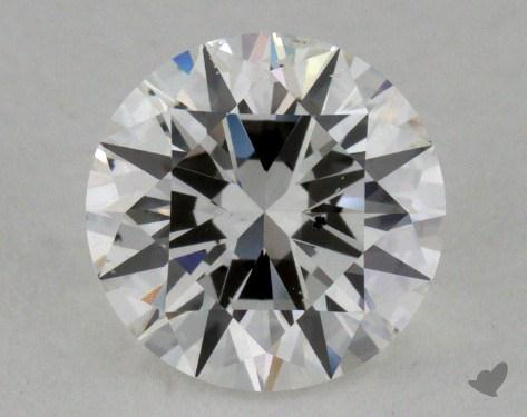 1.00 Carat G-SI1 Good Cut Round Diamond