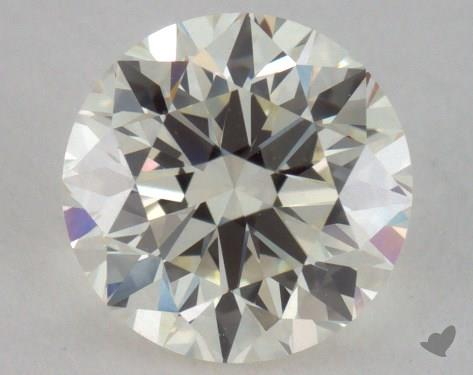 1.00 Carat K-VVS2 Good Cut Round Diamond
