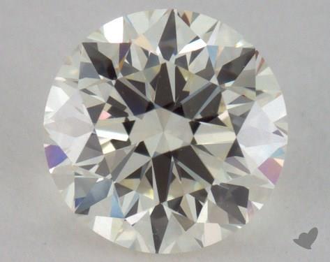 1.00 Carat K-VVS2 Good Cut Round Diamond