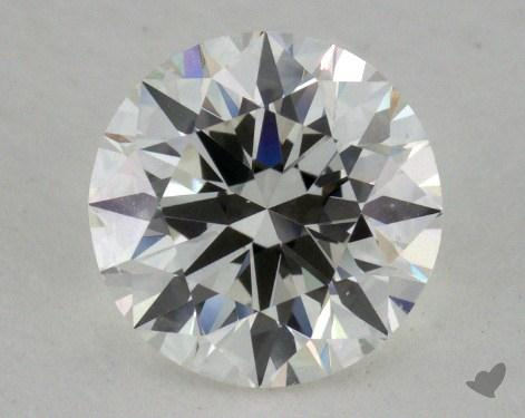 0.93 Carat F-SI1 Excellent Cut Round Diamond