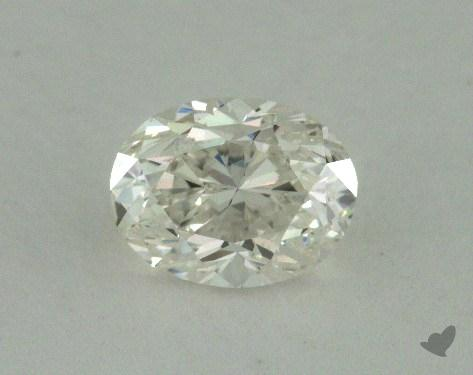 0.70 Carat H-SI1 Oval Cut Diamond