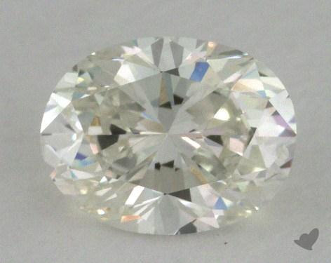 0.72 Carat H-VVS2 Oval Cut Diamond