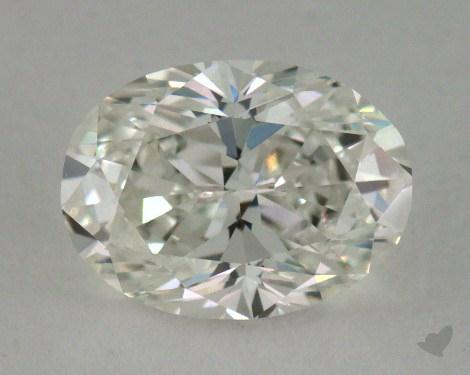 1.07 Carat H-VVS1 Oval Cut  Diamond