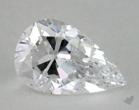 2.00 Carat D-IF Pear Shaped  Diamond