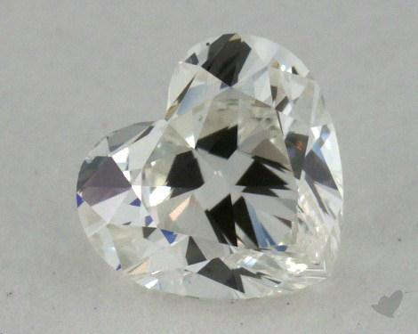 0.70 Carat G-SI1 Heart Shape Diamond