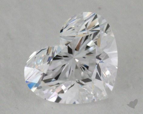 0.55 Carat D-IF Heart Shape Diamond