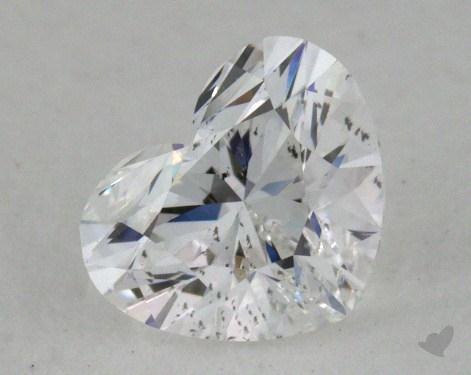 0.60 Carat D-SI2 Heart Cut Diamond 