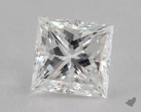 0.52 Carat F-SI2 Ideal Cut Princess Diamond