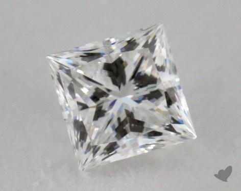 0.71 Carat F-IF Ideal Cut Princess Diamond