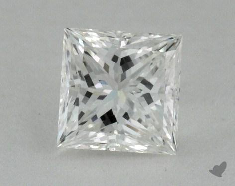 0.76 Carat H-VVS1 Princess Cut  Diamond