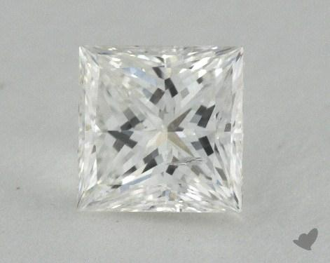 0.74 Carat H-SI2 Princess Cut Diamond