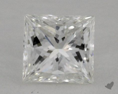 0.85 Carat G-IF Ideal Cut Princess Diamond