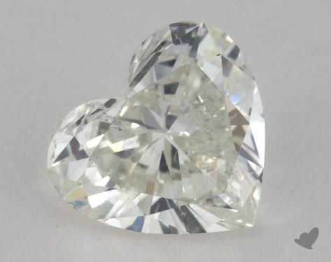 1.17 Carat H-SI2 Heart Shape Diamond