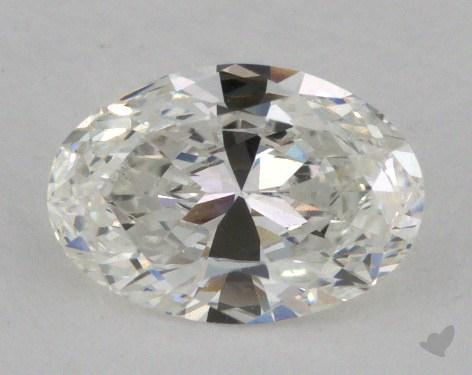 0.78 Carat G-VS1 Oval Cut Diamond