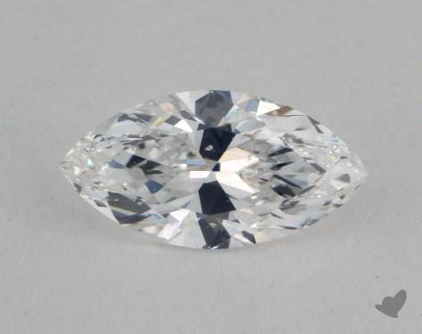 0.52 Carat D-I1 Marquise Cut  Diamond