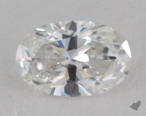 0.45 Carat D-I1 Oval Cut  Diamond