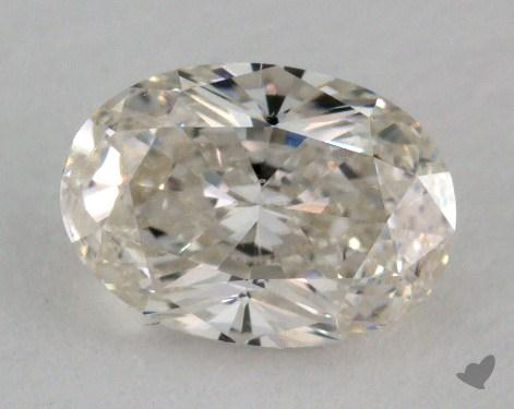 1.02 Carat I-SI1 Oval Cut Diamond