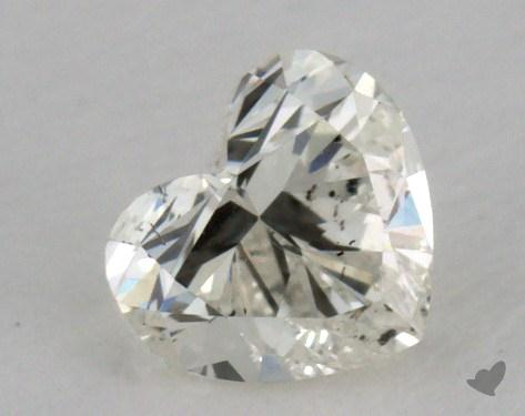 0.33 Carat J-SI2 Heart Cut Diamond
