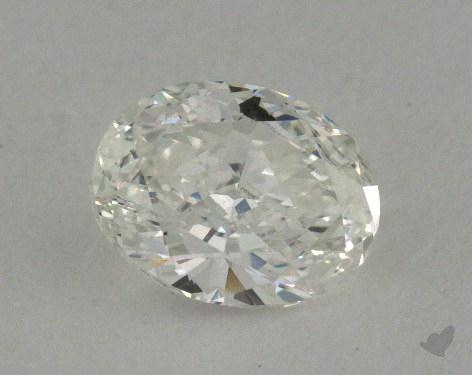 0.70 Carat F-VS2 Oval Cut Diamond