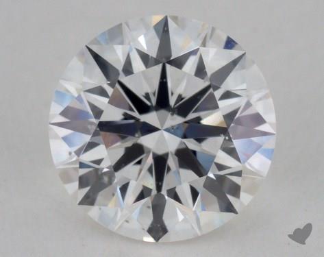 1.13 Carat F-SI1 Ideal Cut Round Diamond