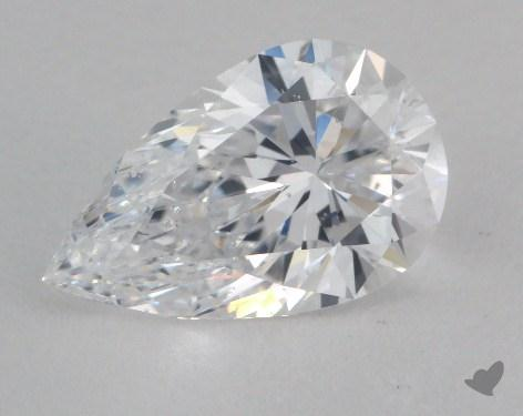 1.52 Carat D-SI1 Pear Shape Diamond