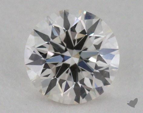 0.50 Carat I-VVS1 Excellent Cut Round Diamond