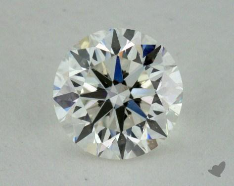 0.90 Carat H-SI1 Very Good Cut Round Diamond