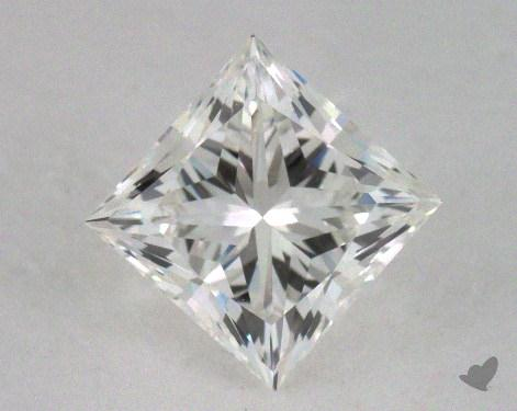 0.92 Carat G-VVS2 Ideal Cut Princess Diamond