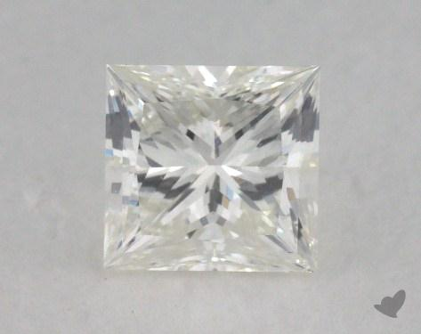 1.02 Carat J-SI1 Very Good Cut Princess Diamond