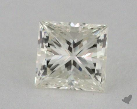 1.00 Carat K-VVS2 Ideal Cut Princess Diamond